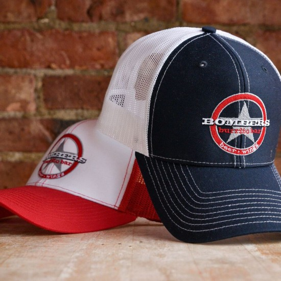 Bombers Burrito Bar Hats